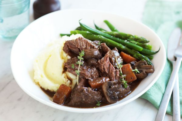 Beef Cheeks in red wine
